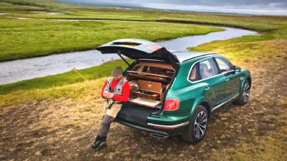 Bentley Fly Fishin SUV