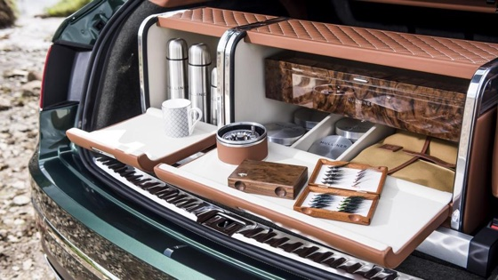 Bentley Fly Fishin SUV Trunk