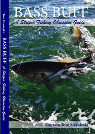 Book, Bass Buff - a Striper Fishing Obsession Guide