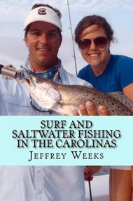 Book - Surf and Saltrwater  Fishing in the  Carolinas