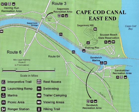 Cape Cod Canal East
