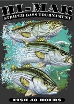 Hi-Mar Striper Club 40 Hour Tournament Logo
