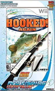 Video Game - Hooked Again Fishing Bundle for Wii