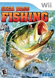 Video Game - Sega Bass Fishing - Nintendo Wii