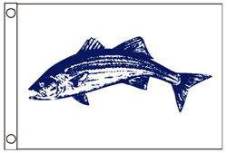 Striped Bass Boat Flag