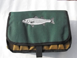Striper Saltwater Surf Fisherman's Lure & Plug Bag