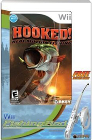 wii hooked! Real Motion Fishing